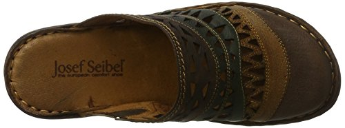 Josef Seibel Ladies Rebecca 49 Zoccoli Multicolore (cognac-multi)