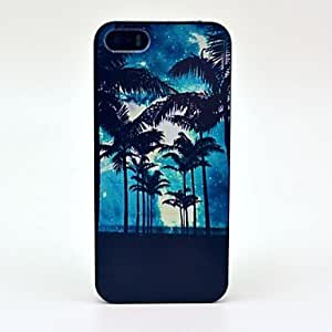 TY-Hermosa modelo de árbol de coco duro caso para iPhone 5/5S
