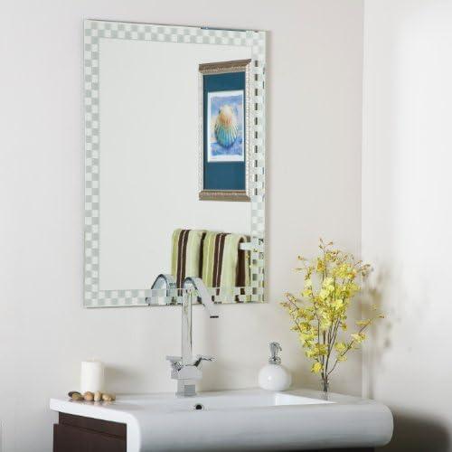 Decor Wonderland Frameless Checkmate Wall Mirror