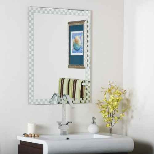 Decor Wonderland Frameless Checkmate Wall Mirror Review