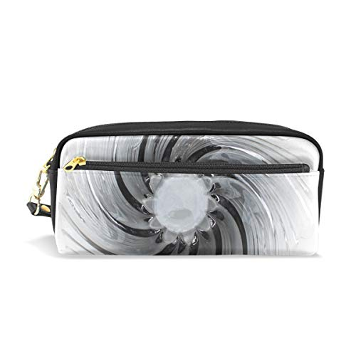 Jnseff Pencil Case Stylish Print Murano Glass Object Glass Art Glass Glass Bowl Art Pattern Large Capacity Pen Bag Makeup Pouch Durable Students Stationery Two Pockets with Double Zipper