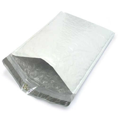 250 EcoSwift Size #000 4x8 Poly Bubble Mailers Self Sealing Bulk Padded Shipping Supplies Packaging Materials Envelopes Bags 4 x 8 inches by EcoSwift