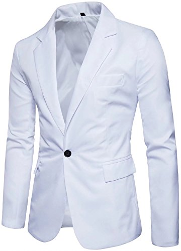 Mens White Jacket - 7