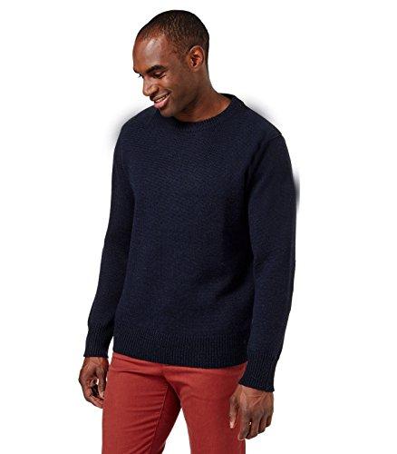 Hypoallergenic 100% Baby Alpaca Pullover Sweater, Organic, Silky XXXL Black ()