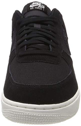 1 black black Uomo Ginnastica Nike Force Da '07 Nero Suede Basse Scarpe sail Air TEZqxAw6