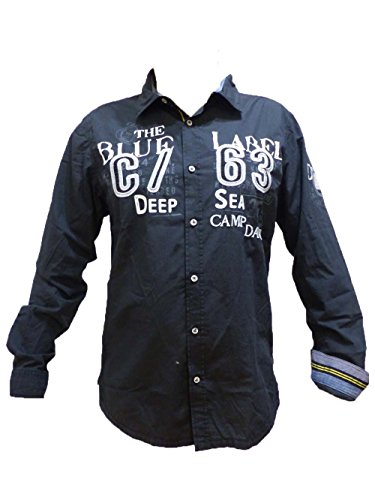 Camp David Hemd Deep Sea I Black Regular Fit CCB-1709-5753 M L XL XXL XXXL