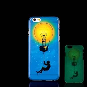 DD Figure Pattern Glow in the Dark Hard Case for iPhone 6
