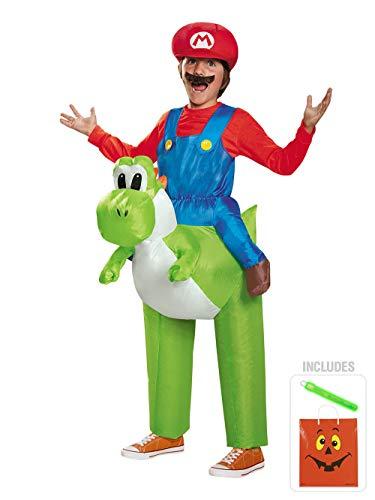 BirthdayExpress Mario Ride a Yoshi Inflatable Kids Halloween CKIT]()
