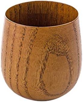 Natuurlijke Houten Cup Herbruikbare Milieubescherming Thee Koffie Melk Wijnkop Warmte Isolatie Waterbeker