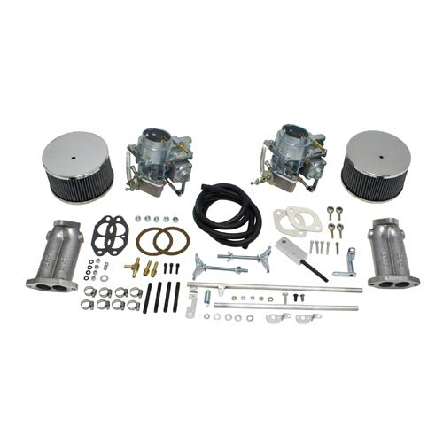 - Dual 40K 40mm Dual Carb Kit, For Type 1 Beetle Twist Linkage, Compatible with Dune Buggy