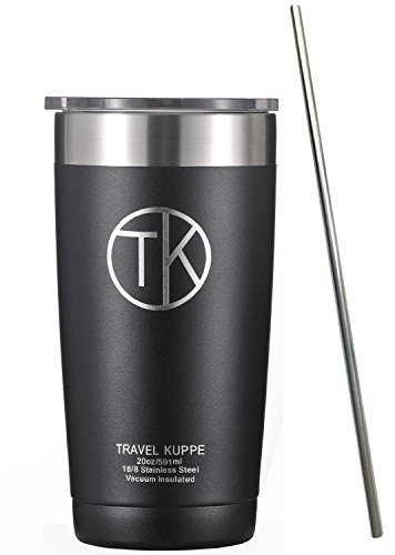 TK 20 oz Tumbler with Straw - Vacuum Insulated Stainless Ste