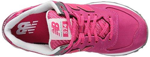 Ny Balans Kvinna Wl574v1 Mode Sneaker Granatäpple / Granatäpple