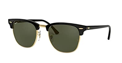 9654180125 Image Unavailable. Image not available for. Color  Ray Ban Clubmaster  Classic RB3016 W0366 51mm