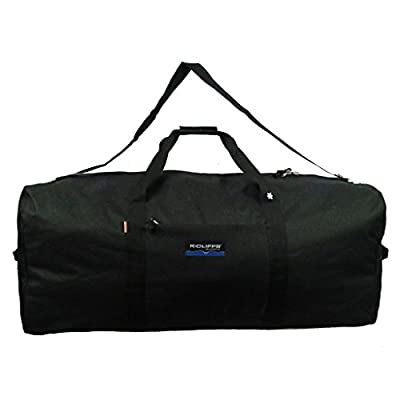 Heavy Duty Large Square Cargo Duffel Jumbo Gear Bag Big Equipment Bag Sport Duffel Oversized Travel Bag Huge Rack Bag