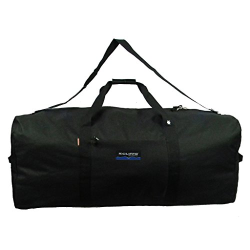 Heavy Duty Large Square Cargo Duffel Jumbo Gear Bag Big Equipment Bag Sport Duffel Oversized Travel Bag Huge Rack Bag