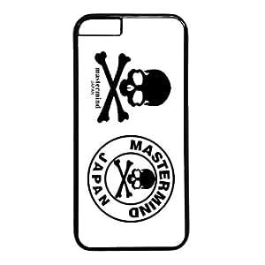 Skull Design PC Black Iphone 6 Case Mastermind