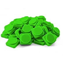 Upixel Pixel Small Chips - Create Pixel Art on Backpacks, Purses, iPhone Cases & More - Grass Green by Upixel