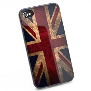 Classic Retro UK United Kingdom Union Jack Flag Hard Case Cover for Apple iPhone 4 4s