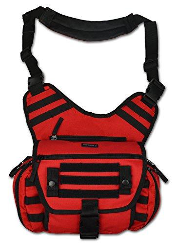 Lightning X MedSling Tactical Messenger-Style Shoulder Sling Pack Push Gear Bag (Push Pack)