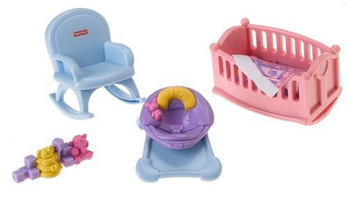 fisher price my first dollhouse furniture | Roselawnlutheran