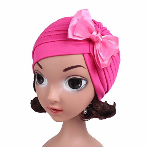 Qhome Girls India Hat Kids Turban Cap Kids Beanie Headband