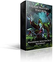 Dungeons and Dragons 5th Edition Deck of Cards – Wandering Monsters Deck: Waterways by Nord Games – 52 Cards -