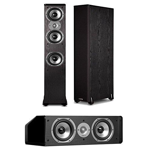 Polk Audio TSi 400 FloorStanding Speaker (Pair) Plus A Polk Audio CS10 Center Channel Speaker by Polk Audio
