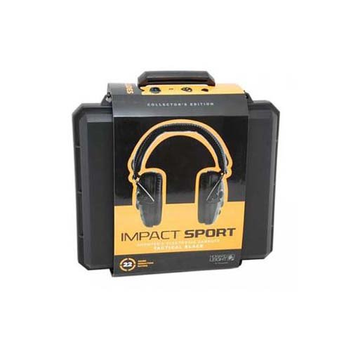 Howard Leight by Honeywell Impact Sport Sound Amplification Electronic Shooting Earmuff with Hard Case (R-02601)