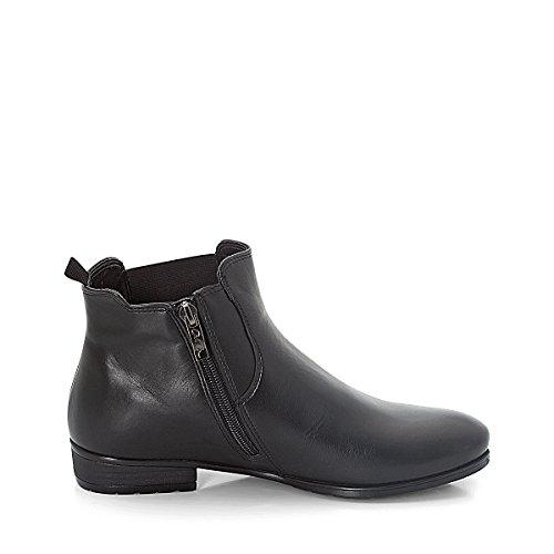 ara shoes Yale, schwarz, Echtleder, lose Einlagen, Warmfutter Schwarz