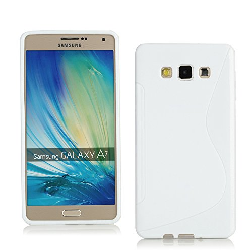 TPU Jelly Case for Samsung Galaxy A7 (White) - 7