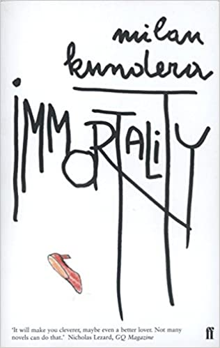 Book Immortality by Milan Kundera (21-Aug-2000)