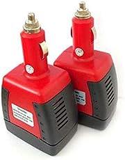 AC+USB 5V Charger Adapter Power Inverter 12V DC 150W To 110/220V Car