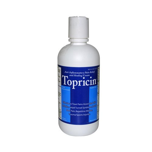 Topricin - Pump, 8 Ounce (8 Pack)