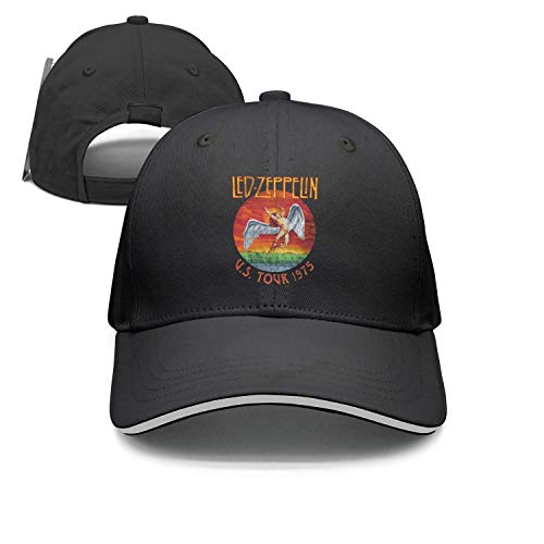 Dolorexri Snpaback led-zeppelin-us-tour-1975- Baseball Cap Trucker Hat ()
