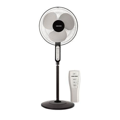 BLACK+DECKER FS1620R 16-Inch Stand Fan with Remote, 220V (Non-USA Compliant) ()