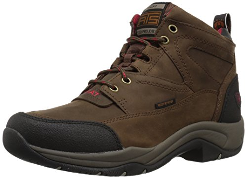 Ariat Women's Terrain H2O Work Boot, Distressed Brown, 5.5 B US by Ariat