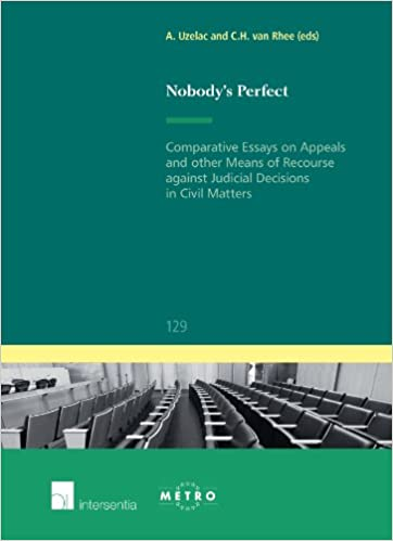 Nobody's Perfect: Comparative Essays on Appeals and Other