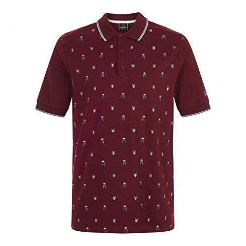 Merc Fitch polo burdeos (mediano): Amazon.es: Ropa y accesorios
