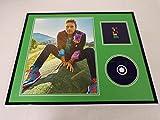 Chris Martin Framed 16x20 Coldplay X&Y CD & Photo