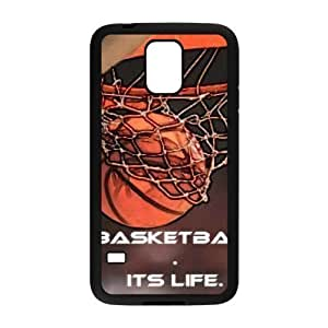 basketball is life DIY Cover Case with Hard Shell Protection for SamSung Galaxy S5 I9600 Case lxa#287030