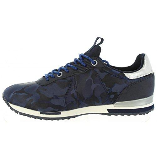 Nylon Basses Racer Homme Marine Bleu Noir Sneakers Tinker Jeans Pepe qAP1FF