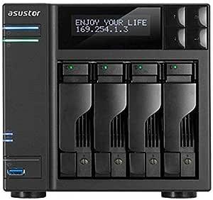 ASUSTOR AS7004T 4-Bay Intel 3.5G Dual-Core High-Performance NAS