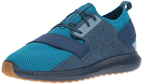 Under Armour Men's Threadborne Shift, Bayou Blue (301)/True Ink, 10.5