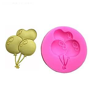 Tonpot balón Forma Tuercas Manual Molde de Silicona para Tartas ...