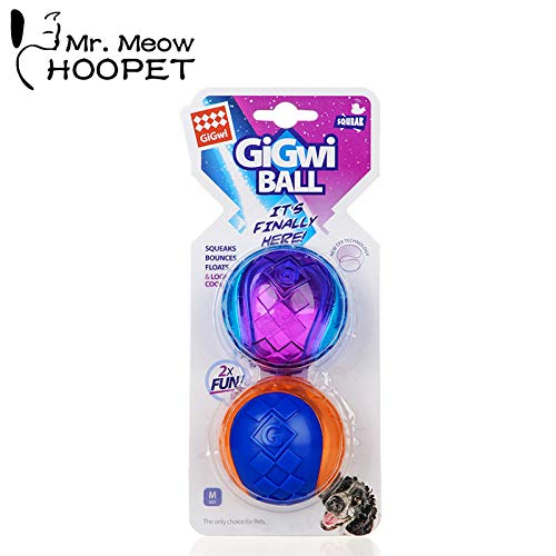 Hoopet Dog Chew Toy Funny Rubber Training Ball for Pet Dog's Supplies