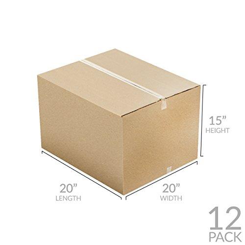 Uboxes Brand Box Bundles: (12 Pack) Large Moving Boxes 20