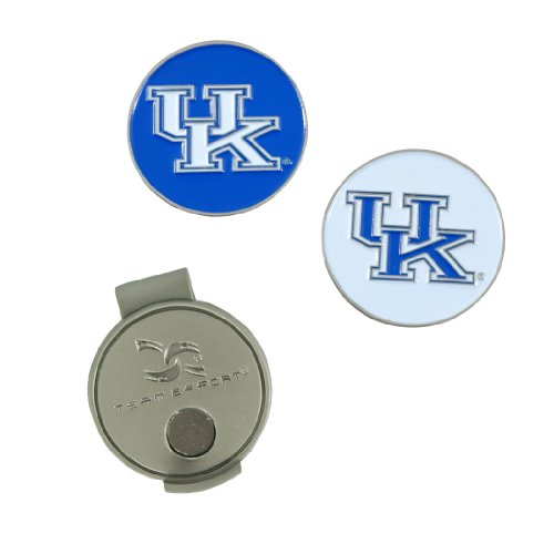 Kentucky Wildcats Hat Clip and Ball Markers (Kentucky Wildcats Hat Clip)