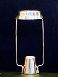 Brass & Silver Traditions Candle Shade Carrier, Silver