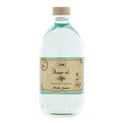 SABON Shower Oil, Delicate Jasmine, 17.59 fl. oz.