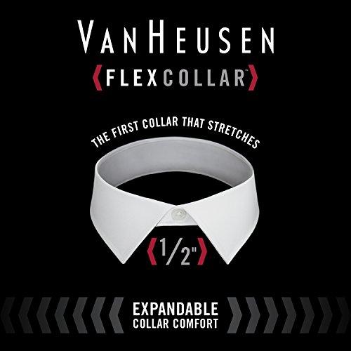 Van Heusen Men's Dress Shirt Flex Regular Fit Solid 5